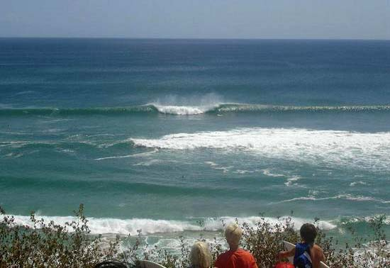 To The Right Of Our Accommodation Is Dreamland Beach Producing Mellow Sand Reef Bottom Waves Breaking Left And Right Suitable For All Levels Of Surfer